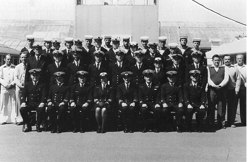 Comms School Staff 1980