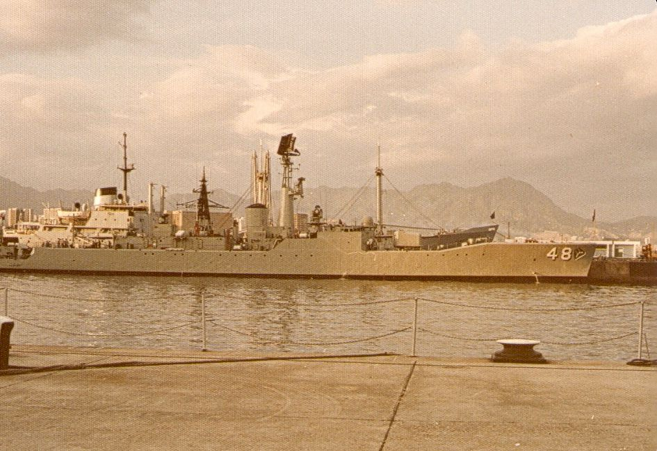 HMAS Stuart HK77