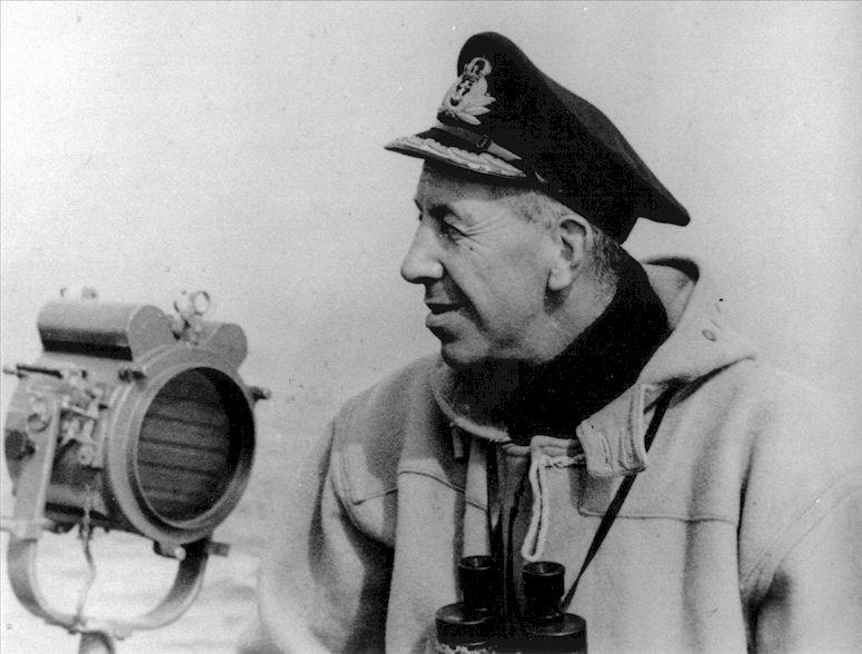 10 inch light Capt E.F.V. Dechaineux