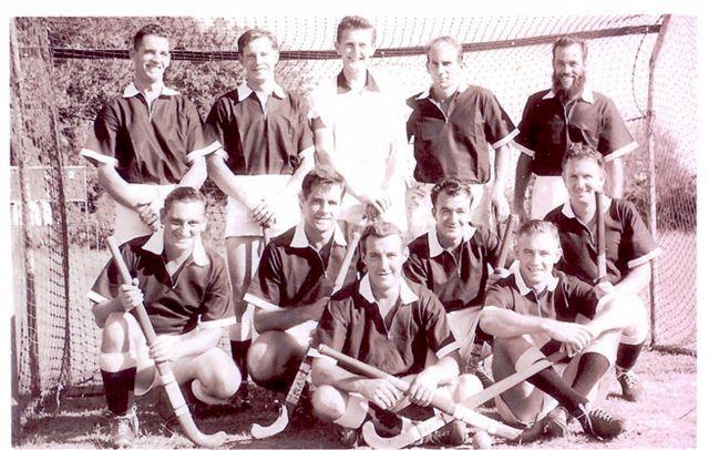 Mens Hockey Team Darwin 1958