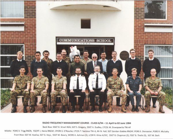Radio Frequency Management Course1994