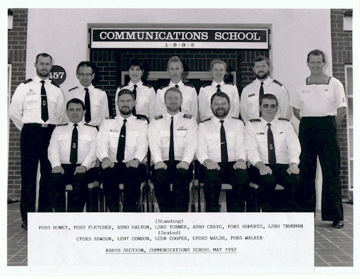 Radio Section 1992