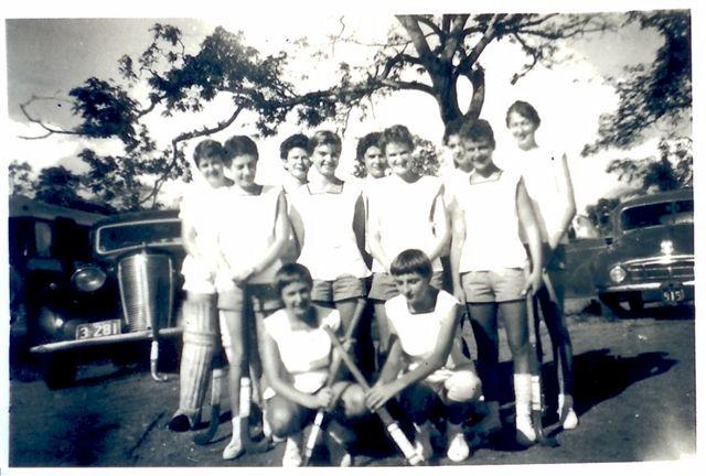 WRANS Hockey Team Darwin 1958