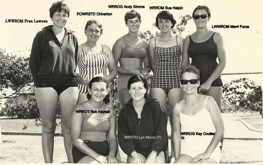 WRANS Water Polo Team 1968