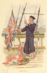 flag signalling